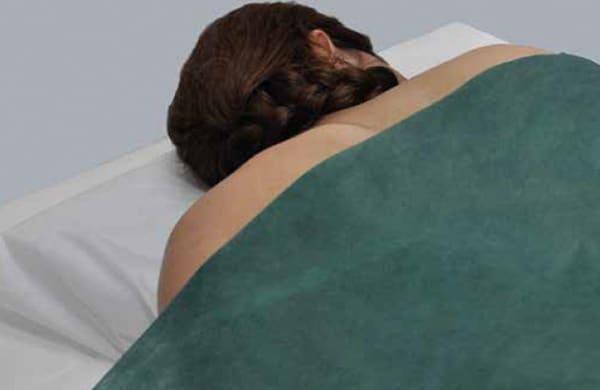 funda desechable para almohada