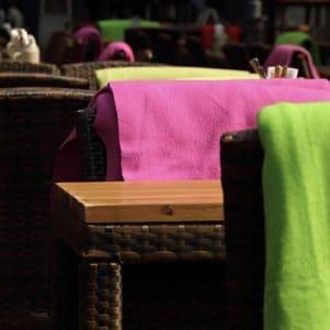 mantas para restauración