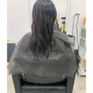capa para peluquería de tnt